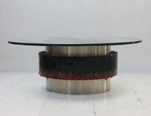 Unique French coffee table from the 60's