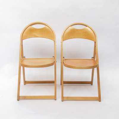 Two Tric Chairs by Castiglioni for BBB Emmebonacina, Italy 1970s