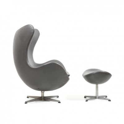 Rare & old Edition Arne Jacobsen Egg Chair with Tilt Function