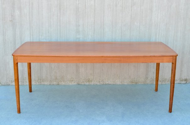 Teak coffee table by Yngvar Sandström, 1960s