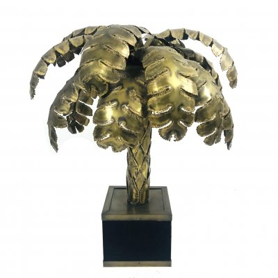 Palm Tree table lamp for Maison Jansen