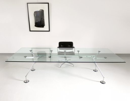 Large Nomos dining table or desk by Sir Norman Foster, 1986