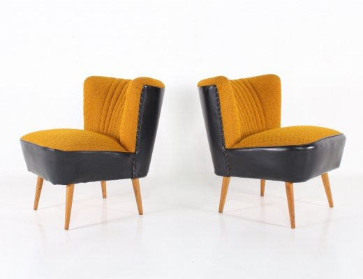 Pair of cocktail chairs