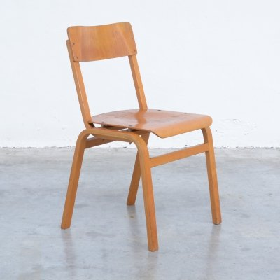 20 x Plywood Dining Chair, 1960s