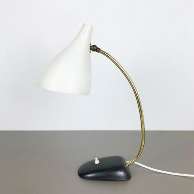 Original modernist metal Table light by Cosack, Germany 1960s