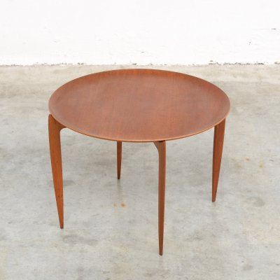 Tray Side Table by H. Engholm & Svend Aage Willumsen for Fritz Hansen
