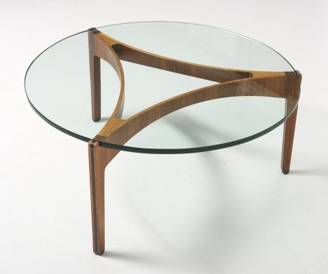 3-legged coffee table by Sven Ellekaer