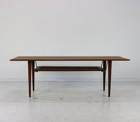 FD 516 coffee table by Peter Hvidt & Orla Mølgaard Nielsen for France & Son, 1960s