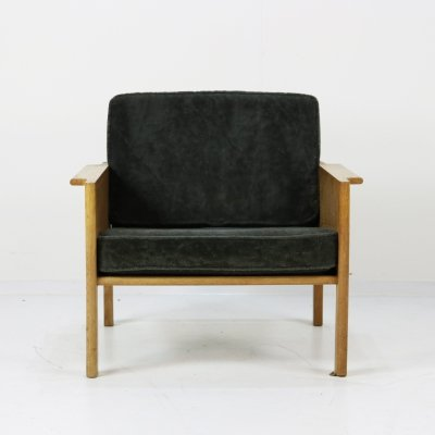 Model 109 arm chair by Kai Christiansen for Christian Jensen Möbelfabrik, 1960s