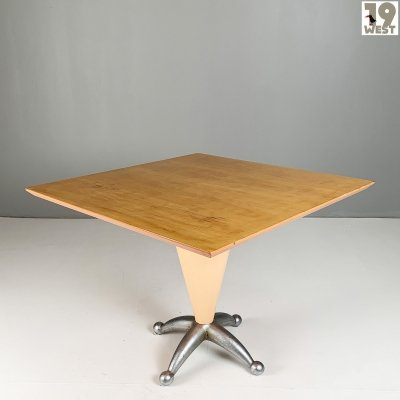 Postmodern Italian dining table from the 1980's