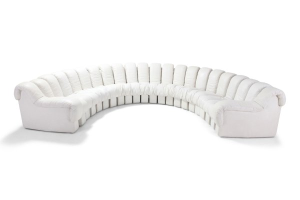 Non Stop 'Snake' Sectional Sofa DS-600 by De Sede, Switzerland 1980s