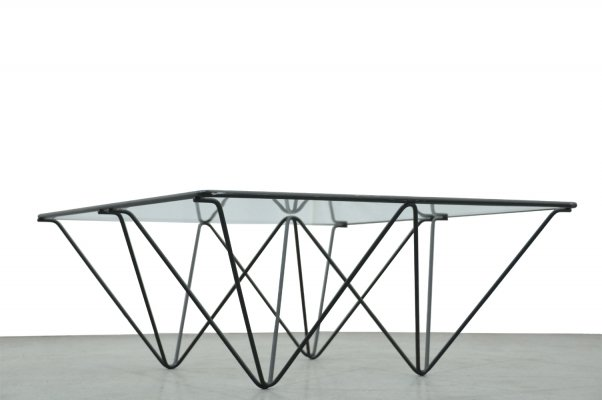 Minimalist vintage coffee table, 1980s