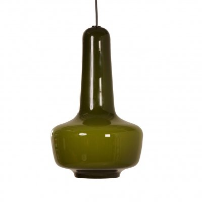 Danish Kreta Pendant by Jacob E. Bang for Fog & Morup, 1960s
