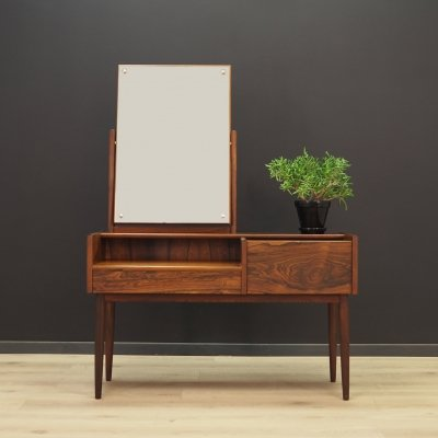 Vintage dressing table in rosewood, 1970s