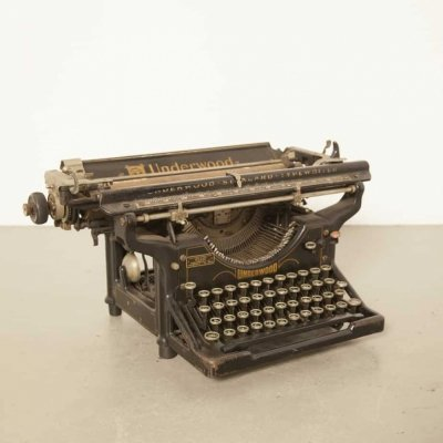 Underwood Standard typewriter, 1920s