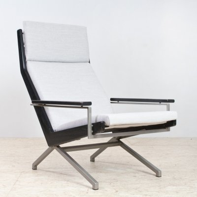 Grey Lotus lounge chair by Rob Parry for Gelderland, 1960s