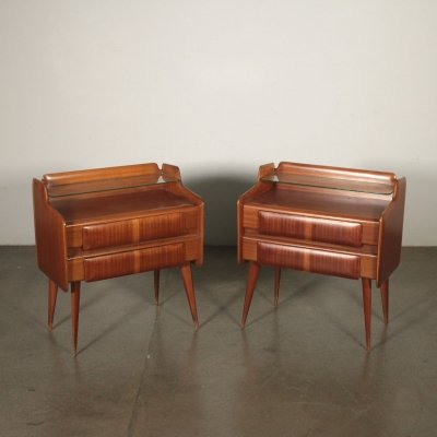 Pair of Vintage 1950s Nightstands