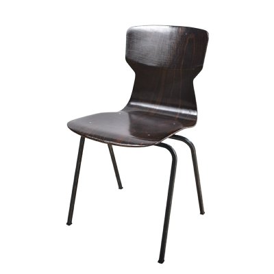 70 x Model 6408 dining chair by Eromes, 1960s