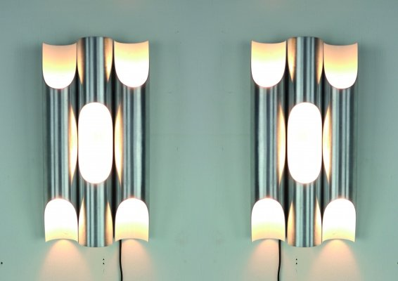 Set of 2 RAAK Fuga Wall Lights by Maija Liisa Komulainen, 1960