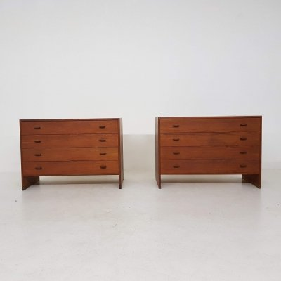 Pair of RY16 chest of drawers by Hans Wegner for Ry Møbler, 1960s