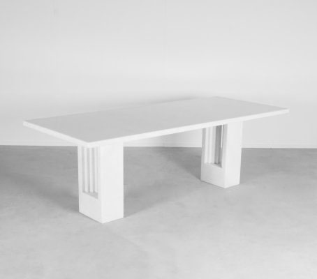 Original Cristallo Marble 'Delfi' Table by Carlo Scarpa for Simon Gavina, 1968