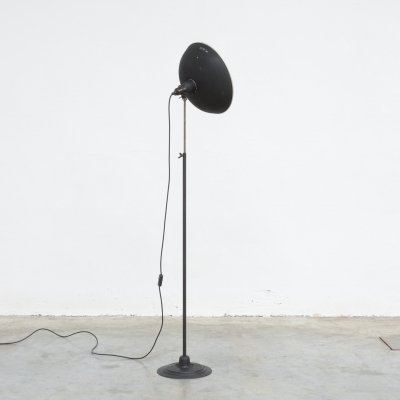 Industrial Studio Floor Lamp by KAP, 1950s