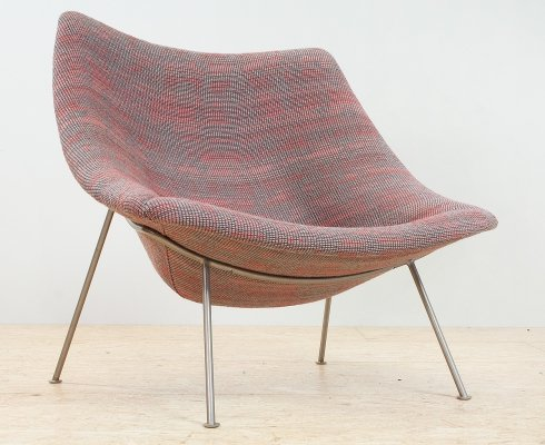 Pierre Paulin Oyster lounge chair for Artifort, 1960s