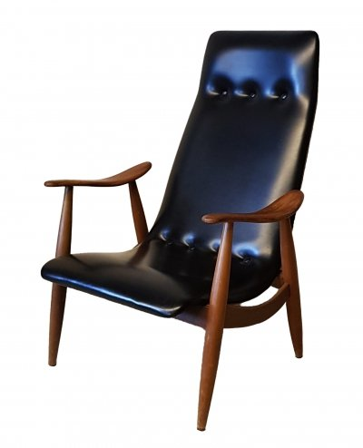 Louis van Teeffelen Arm Chair for Webe, 1960s