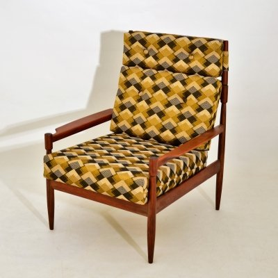 French lounge chair, 1960s