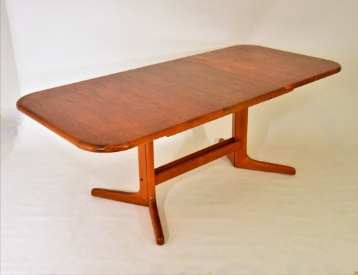 Danish extendable (8 seats) dining table by Gudme Møbelfabrik, 1960s