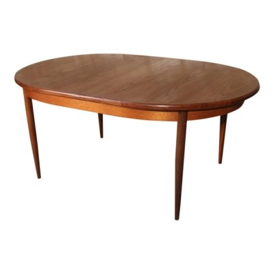 Vintage teak scandinavian style dining table by G-PLAN