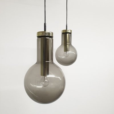 Set of Maxi Globe hanging lamps by Raak Amsterdam, 1960s
