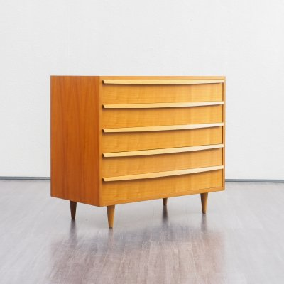 WK Möbel chest of drawers in cherrywood, 1960s