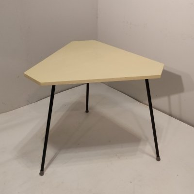 Rare Triangle side table by Rob Parry for DiCo, 1956