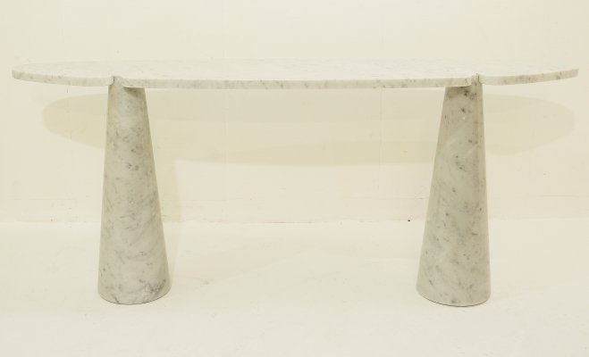 Marble Console by Angelo Mangiarotti, 1970s