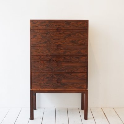 Mod. 385 chest of drawers by Kai Kristiansen for Aksel Kjersgaard, 1960s