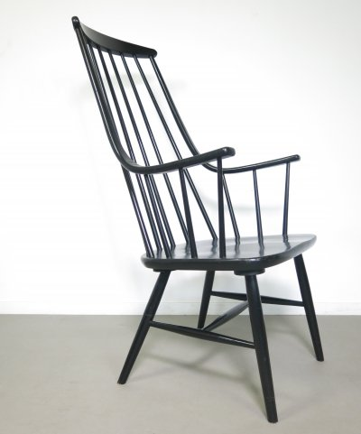 Black Grandessa chair by Lena Larsson for Nesto, 1960s