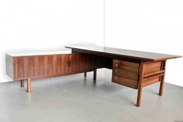 Writing desk by Arne Vodder for Sibast, 1960s