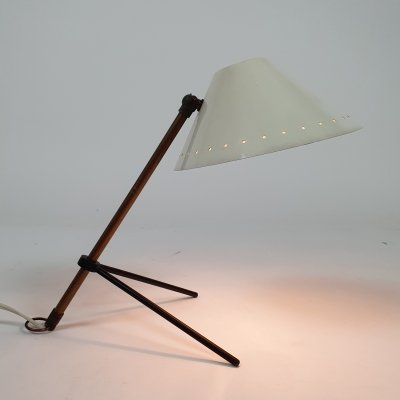 Early edition Pinokkio table/wall lamp by H. Busquet for Hala Zeist, 1950s