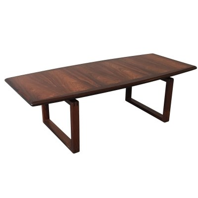 Rosewood coffee table by Kai Kristiansen Denmark 1960s