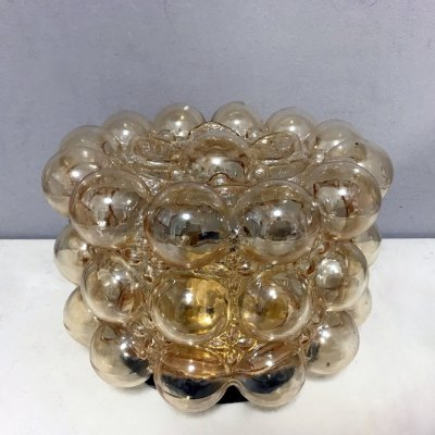 Bubble Glass Ceiling lamp by Helena Tynell, 1960s