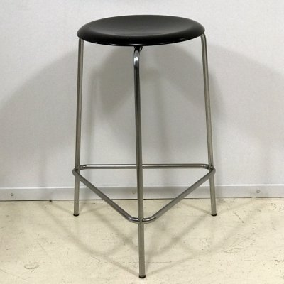 Tripod High Stool M3170 by Arne Jacobsen for Fritz Hansen, 1970s