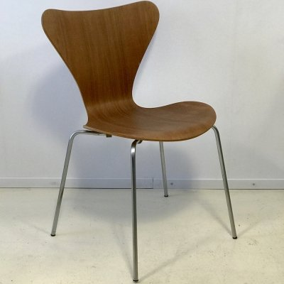 Butterfly 3107 dining chair by Arne Jacobsen for Fritz Hansen, 1960s