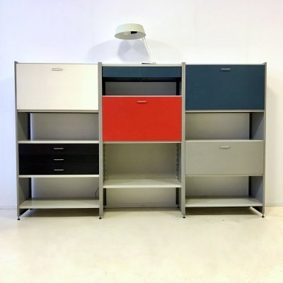 Model 5600 wall unit by André Cordemeyer & L. Holleman for Gispen, 1960s