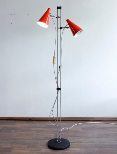 S 178 - 1308 floor lamp by Josef Hůrka for Lidokov, 1960s