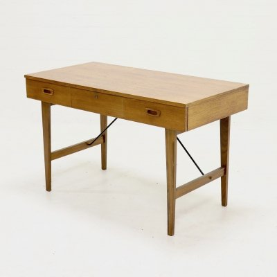 Mid Century Teak Writing Desk, Danish Design 1960s
