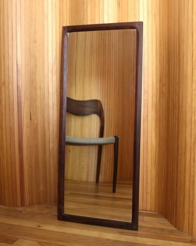Aksel Kjergaard model 165 rosewood wall mirror