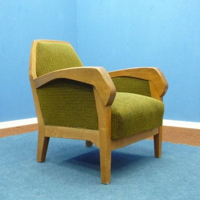 Anthroposophical Armchair by Felix Kayser for Schiller Möbel Stuttgart, 1920s