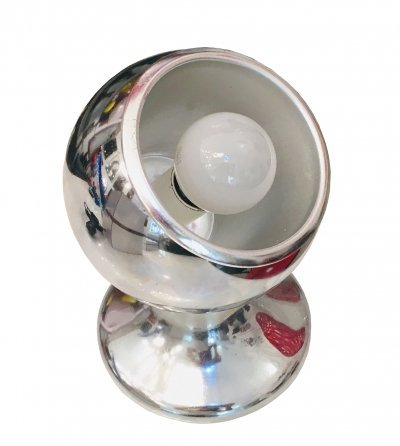 1960's Chrome Table Lamp with Magnet
