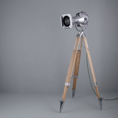 Vintage Furse theatre projector & tripod standing lamp